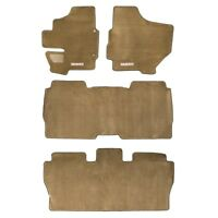 2004-2009 Nissan Quest Beige Carpeted Floor Mats Front & Rear Set OEM NEW