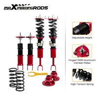 For Nissan Fairlady 350Z Z33 Height Adj. Coilovers Kits Racing Shocks Red