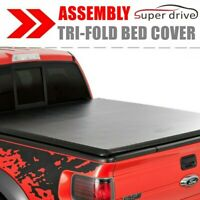 Lock Tri-Fold Tonneau Cover For 2009-2018 Dodge Ram 1500 6.5ft Bed Assembly