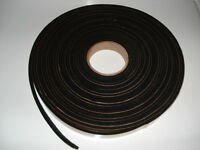 1 Inch Self Adhesive Glass Window Run Channel Liner Felt Material 6 Ft.