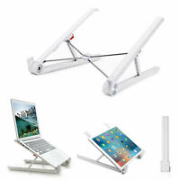 Laptop Ständer Faltbarer Tragbar Desktop MacBook Tablet Notebook PC Halter Stand
