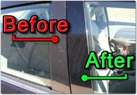 BLACK Pillar Posts for Ford F150 04-14 (EXTENDED/SUPERCAB) 4pc Set Cover Door