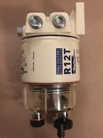 R12T A-120AT FUEL FILTER/WATER SEPARATOR 10 MICRON Complete Unit MADE IN USA
