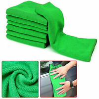 10x New 25*25CM Car Soft Microfiber Absorbent Wash Cleaning Polish Towel Cloth