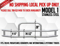 Stainless Steel Angled Mud Flap Hanger Set 1 1/8