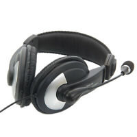 New Headset game Microphone/Headphone With 3.5Mm For Notebook/Laptop Computer US