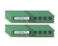Lot 8GB 4GB 2GB 2Rx8 PC3-8500U DIMM DDR3 1066Mhz 1.5V For PC Desktop Memory RAM