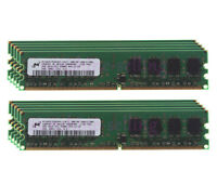 Lot Micron 20GB 8GB 4GB 2GB DDR2 533Mhz PC2-4200U DIMM Intel Desktop Memory RAM