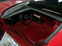 1985 Chevrolet Corvette red leather 85 corvette on mso with 7,600 miles