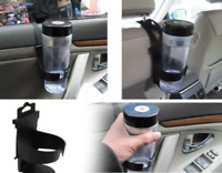 Car Van Cup Drink Can Coke Wine Glass Travel Holiday Holder Easy Fit Gift