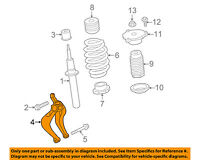 VOLVO OEM 17-18 S90 Front Suspension-Fork Right 31681721