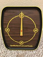 Ok Quality Used Cars And Trucks Electric Clock NOS RARE Chevrolet
