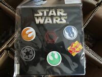 Disney Trading Pins STAR WARS EMBLEMS Millenium Falcon  2016 Booster Set of 6