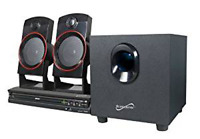 Supersonic SC-35HT 2.1 Channel Home Theater System Brand New