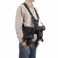 Multi-functional Chest Harness Carrier Holster System Vest Camera Strap EK