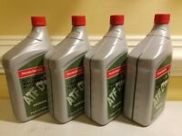 4 QT. of Genuine Honda Transmission Fluids(Atf Dw-1)  part number 08200-9008