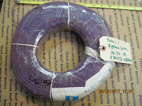 1000 ft 18 AWG Gauge Insulated Appliance Wire Purple Sheath P/N: 570779