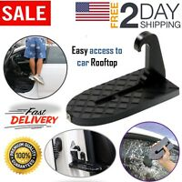 Vehicle Access Roof Of Car Door Step Gives You a Step To Rooftop Doorstep Easily