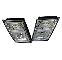 Volvo VNL VN  2003+ LED Fog Light Chrome Pair Set NEW DESIGN