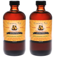 (2) Sunny Isle™ Jamaican Black Castor Oil 2oz for Skin and Hair Care Product Set