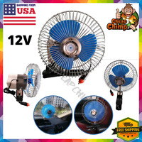 Fan With Clip For Car Portable Mini 12 V Volt Electric Cooling Suv/Truck/Auto/RV