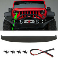Undercover Nighthawk Light Brow Angry Upper Grill for 2007-2017 Jeep Wrangler JK
