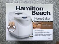 BRAND NEW IN HAND HAMILTON BEACH 2 LB BREAD MAKER 2LB Model #29881!