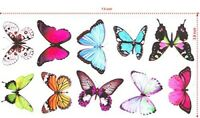2 * 10 pcs Butterfly Wall Stickers Art Decal Home Room Decorations Decor Kids