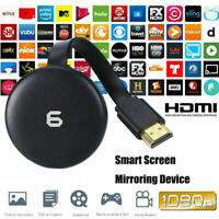 6th Generation 1080P Media Video Streamer Player Dongle Digital For Chrome-cast
