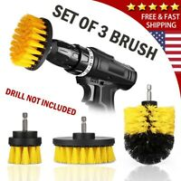 Brush Set Yellow Kit Power Scrubber Drill Attachments For All type of Cleaning