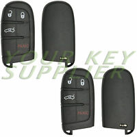 2 New Replacement Keyless Entry Proximity 4Btn Remote Shell Gen 4 M3N40821302