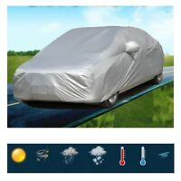 M - Foldable Snow Wind Dust Resistant UV Outdoor Full Car Auto Cover