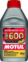 MOTUL RBF 600 FACTORY LINE DOT 4 RACING BRAKE FLUID 100 SYNTHETIC 500 ML 100949