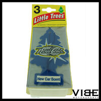 Little Trees Car Home Office Hanging Air Freshener New Car Scent (Pack of 3)