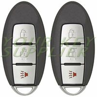 2 New Replacement Proximity Twist Ignition Smart Key for Nissan Rogue CWTWBU729
