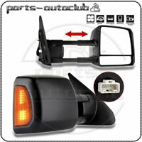 L+R Tow Power Heated Signal Side Mirrors for 2007-2016 Toyota Tundra Truck Pair