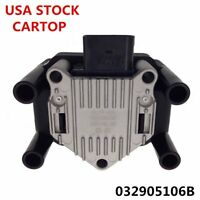 032905106 IGNITION COIL PACK RAIL FOR VW GOLF IV BORA POLO CADDY PASSAT US STOCK