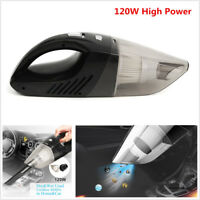 120W High Power Rechargeable Cordless Dry & Wet Portable Car Home Vacuum Cleaner