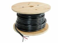 4-Wire Trailer Lighting Cable - Red/White/Black/Brown - 100 Feet