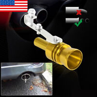 Car Turbo Sound Whistle Muffler Exhaust Pipe Auto Blow off Valve Simulator US