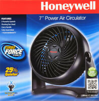 Honeywell Table Top Air Circulator Fan HT-900, Energysaver Black Desktop Fan