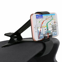 Car Dashboard Clip Mount Holder Stand For iPhone 7/8 Plus/X/XS Max/XR/Cell Phone