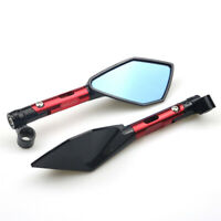 Universal modified CNC Motorcycle Side Mirrors rearview Mirrors Handlebar mirror
