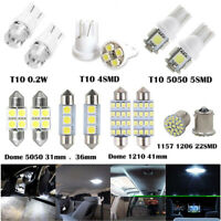 14 Assorted LED Car Interior Inside Light Dome Trunk Map License Plate Lamp Bulb