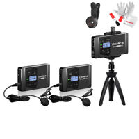 COMICA CVM-WS60 COMBO 1-Trigger-2 Dual Transmitter+ Receiver Wireless Microphone