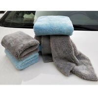 2PC Car Cleaning Cloth Coral Velvet Double-sided Kitchen Thickening Tools Towels