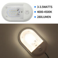 12V General Car RV Dome Lamp White LED Roof Trailer Ceiling Lighting With Switch