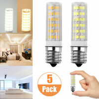 E17 LED Dimmable Intermediate Base Microwave 7W Appliance Light Bulb (5 Pack)