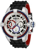 Invicta 29077 Bolt Men's 49mm Chronograph Stainless Steel White Dial Watch