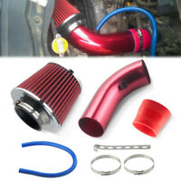 NEW Universal Car Cold Air Intake Filter Alumimum Induction Kit Pipe Hose System